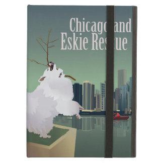 Caisse d'air d'iPad de délivrance de Chicagoland Coque iPad Air