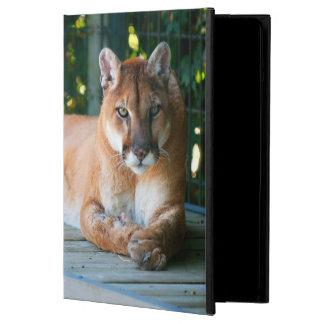 Caisse d'air d'iPad de Powis de faune de puma