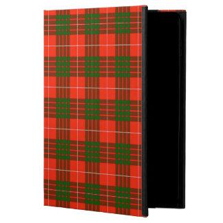 Caisse d'air d'iPad de tartan de Crawford