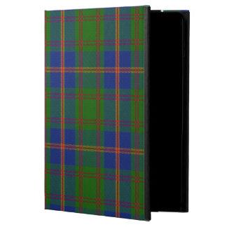 Caisse d'air d'iPad de tartan de marines