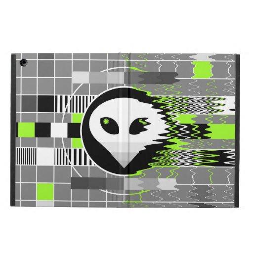 Caisse d'air d'iPad d'iCase de l'alien TV Powis