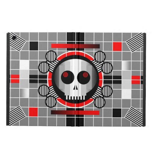 Caisse d'air d'iPad d'iCase du crâne TV Powis