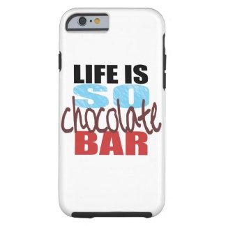 caisse de barre de chocolat de l'iPhone 6 ! Coque Tough iPhone 6
