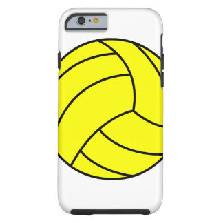 Caisse de boule de polo de l'eau coque tough iPhone 6