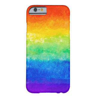 Caisse de colorant de cravate de ROY G BIV Coque iPhone 6 Barely There