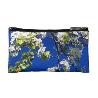 Caisse de cosmétiques de fleurs de cerisier trousse de toilette