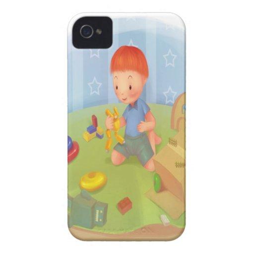 caisse de courbe de mûre coque iPhone 4 Case-Mate