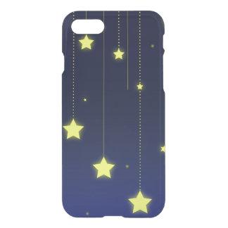 Caisse de déflecteur de Clearly™ de nuit étoilée Coque iPhone 7