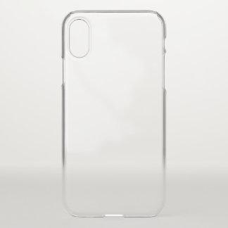 Caisse de déflecteur de l'iPhone X Clearly™ Coque iPhone X