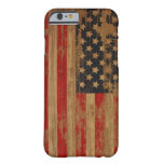 Caisse de drapeau américain coque iPhone 6 barely there