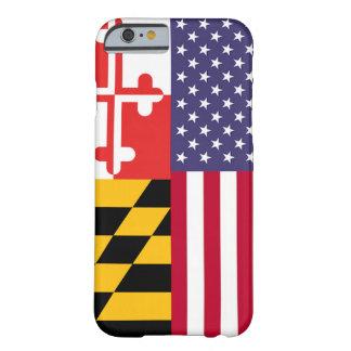 Caisse de drapeau d'Ameri'Land Coque Barely There iPhone 6