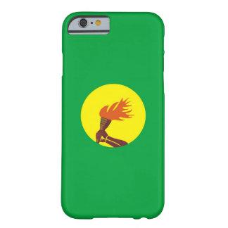 caisse de drapeau de pays du Zaïre Congo Coque iPhone 6 Barely There