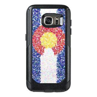 Caisse de drapeau d'impressionisme du Colorado Coque OtterBox Samsung Galaxy S7