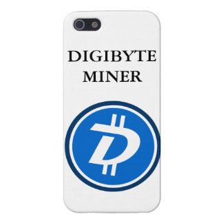 Caisse de galaxie d'Iphone de mineur de DIGIBYTE Coque iPhone 5