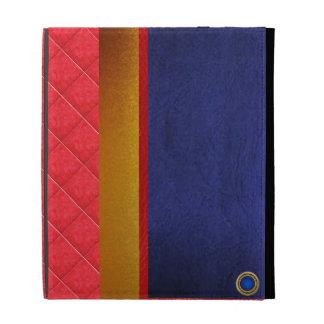 Caisse de haute qualité de livre À couverture dure Étuis iPad Folio