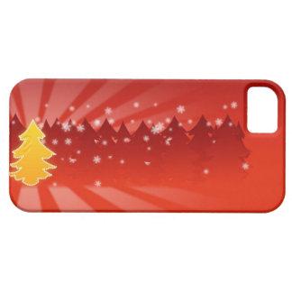 Caisse de l arbre de Noël iPhone5 Coques iPhone 5 Case-Mate