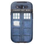 Caisse de la galaxie S de Samsung de cabine téléph Coques Galaxy SIII