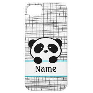 Caisse de l'iPhone 5 de panda personnalisée par Coque iPhone 5