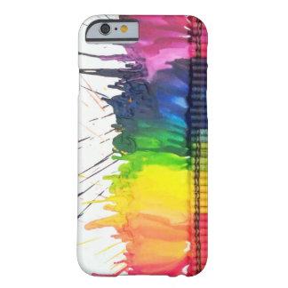Caisse de l'iPhone 6 d'art de crayon fondue par ar Coque iPhone 6 Barely There