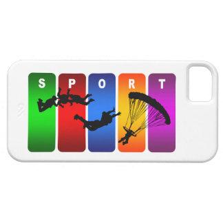 Caisse de parachutage multicolore de l'iPhone 5 Étui iPhone 5