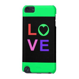 Caisse de point de contact d iPod d amour