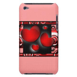 Caisse de point de contact d iPod de coeurs Coque iPod Touch