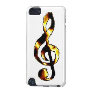 Caisse de point de contact d iPod de musique