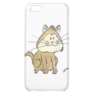 Caisse de point de l'iPhone 4 de chat et de fil Étui iPhone 5C