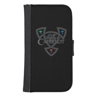 Caisse de portefeuille de la galaxie S4 de Samsung