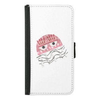 Caisse de portefeuille de la galaxie S5 de Samsung