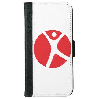 caisse de portefeuille de l'iPhone 6/6s pour les