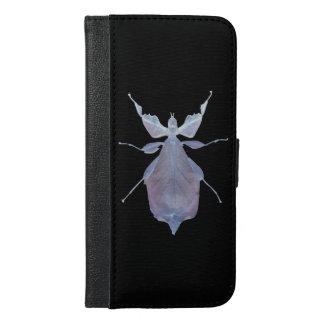 Caisse de portefeuille d'insecte de feuille