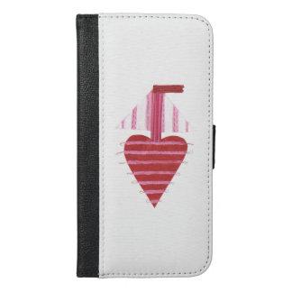 Caisse de portefeuille d'IPhone 6/6s de bateau de