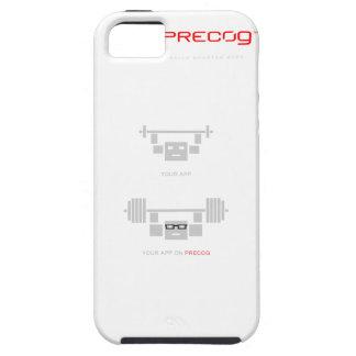 Caisse de silicium de Precog Iphone 5 Coque iPhone 5 Case-Mate