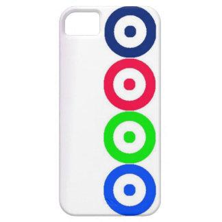 Caisse des cercles iPhone5 Coques iPhone 5