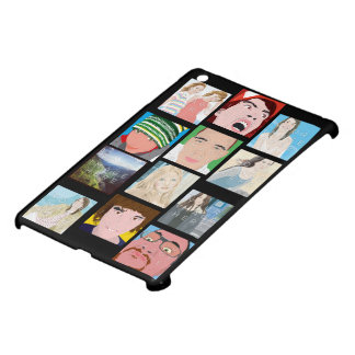 Caisse d'iPad personnalisée par photo de mosaïque Coque Pour iPad Mini