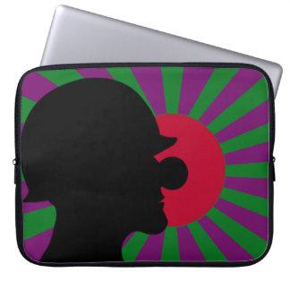 Caisse d'ordinateur portable de drapeau de trousses ordinateur