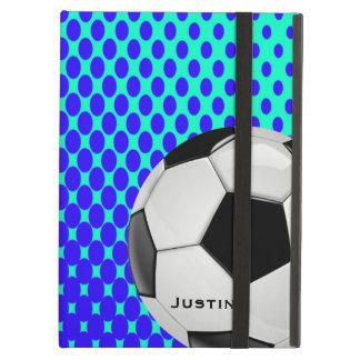Caisse élégante d'air d'iPad du football