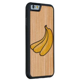 caisse en bois de cerise de butoir de l'iPhone Coque iPhone 6 Bumper En Cerisier