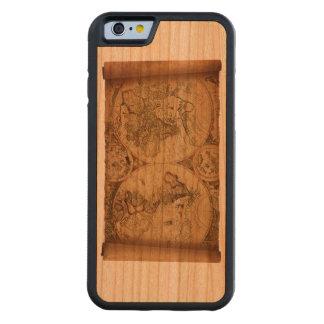 Caisse en bois de cerise de Vieux Monde Coque iPhone 6 Bumper En Cerisier