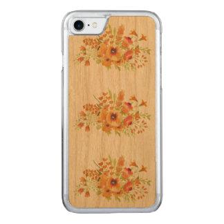 caisse en bois de cerise mince de l'iPhone 7 Coque Iphone 7 En Bois