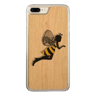 Caisse en bois de cerise mince plus de l'iPhone 7 Coque En Bois iPhone 7 Plus
