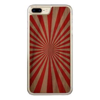 Caisse en bois de noix mince plus de l'iPhone 7 Coque En Bois iPhone 7 Plus