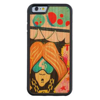 Caisse en bois de pare-chocs frais de l'iPhone 6 Coque iPhone 6 Bumper En Cerisier