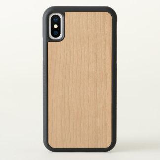 Caisse en bois découpée de pare-chocs de l'iPhone