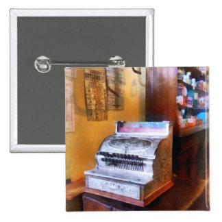 Caisse enregistreuse d'épicerie pin's avec agrafe