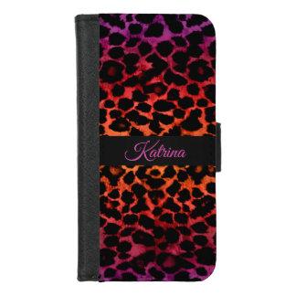 Caisse exotique de portefeuille d'iPhone de
