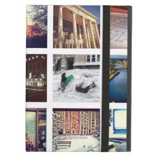 Caisse faite sur commande d'air d'iPad de collage