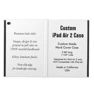Caisse faite sur commande de l'air 2 d'iPad -