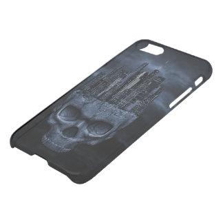 Caisse gothique de déflecteur de Clearly™ de Coque iPhone 8/7